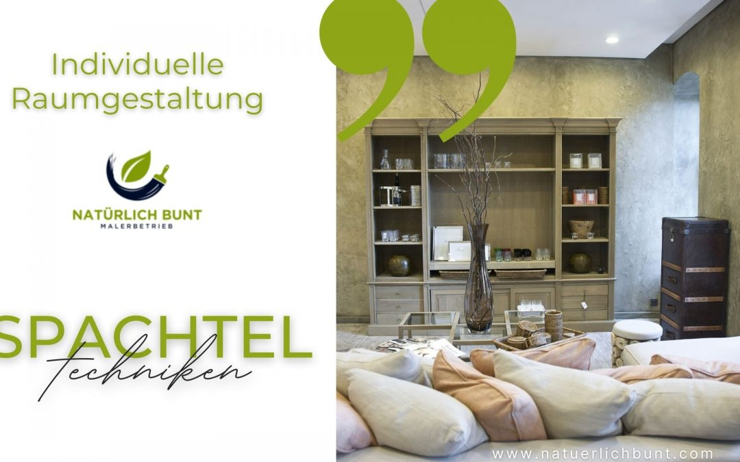 Spachteltechniken – Malerbetrieb Duisburg
